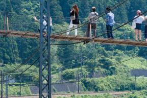 塩郷の吊橋