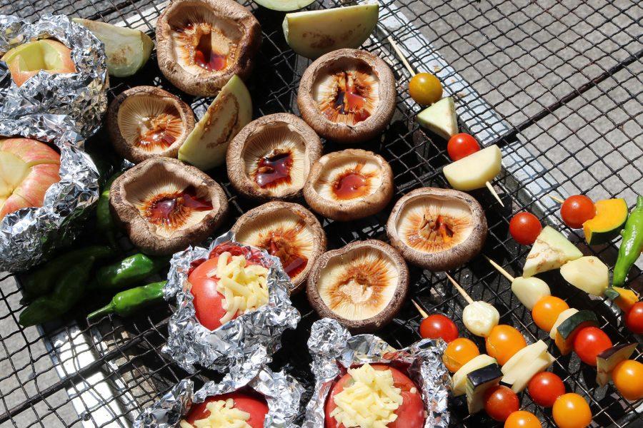 女子だけでBBQに初挑戦!! 大井川の新鮮な食材をいただきます!