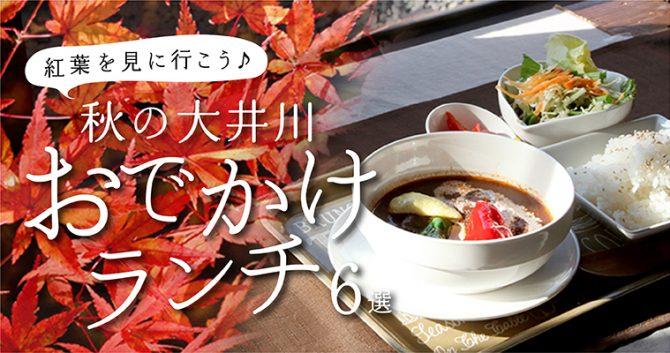 おいしい秋旅へでかけよう♪大井川のおでかけランチ6選
