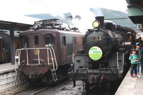 親子3代で楽しむ大井川、鉄道と温泉の旅(その1 SL乗車編)