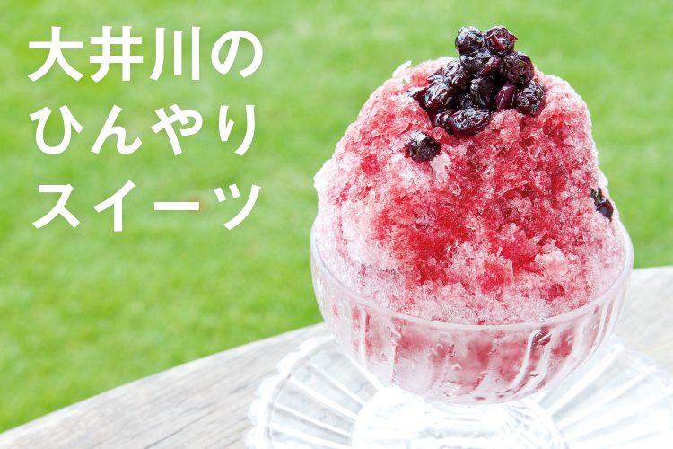 大井川の夏はコレ!かき氷、ジェラート、お茶スイーツ…ひんやりスイーツ集めました☆ >>>