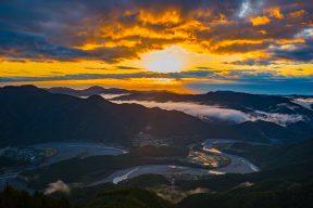 【2日目】夜明けの川根の絶景と『いにしえの風』のしあわせな朝ごはん