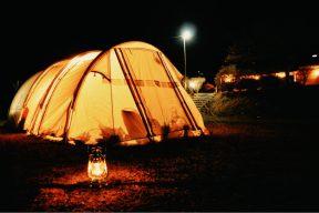 大井川で冬キャンプ!くのわき親水公園キャンプ場で、温泉・つり橋・満点の星空!