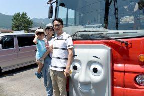 大井川鐵道 親子3人でバーティー号ときかんしゃトーマス号に初めて乗りました!