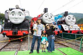 週末はトーマスフェアへ♪ 千頭駅のトーマスフェアでできること、まとめました