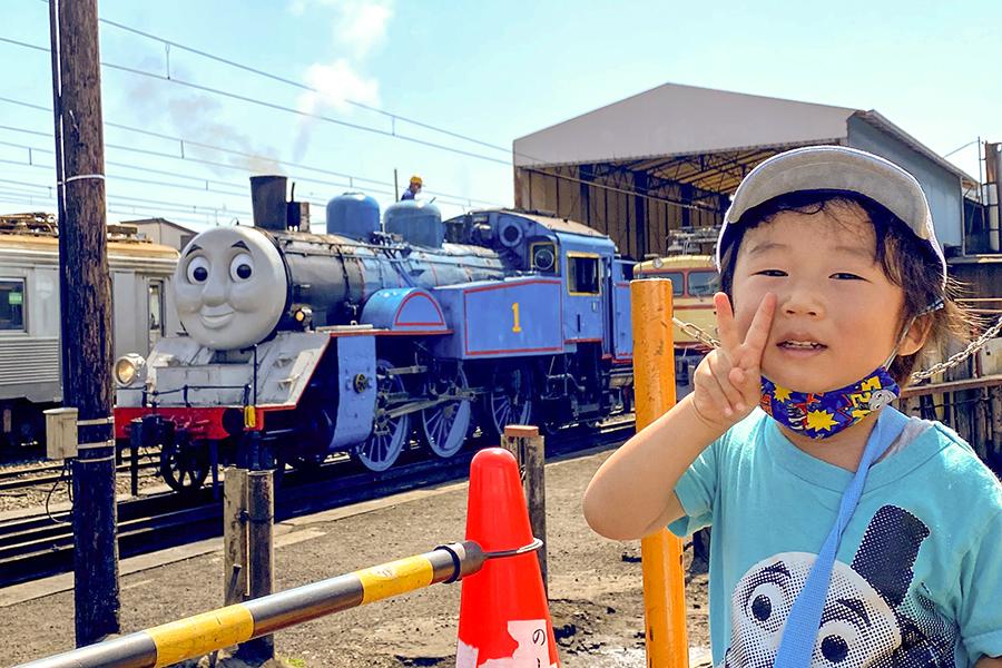 2020年夏!2歳の子どもと「きかんしゃトーマス号」に乗車しましたレポート