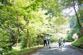 大井川鉄道から30分。自然とあそべる掛川の田舎体験宿に泊まろう!