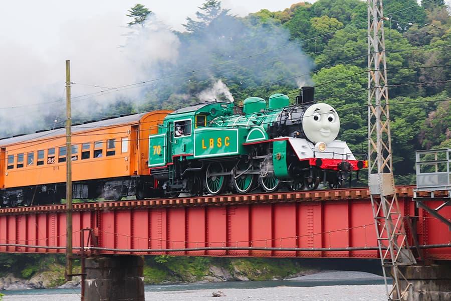 2021年6月限定「大井川鐵道 緑のきかんしゃトーマス号」を楽しむ方法